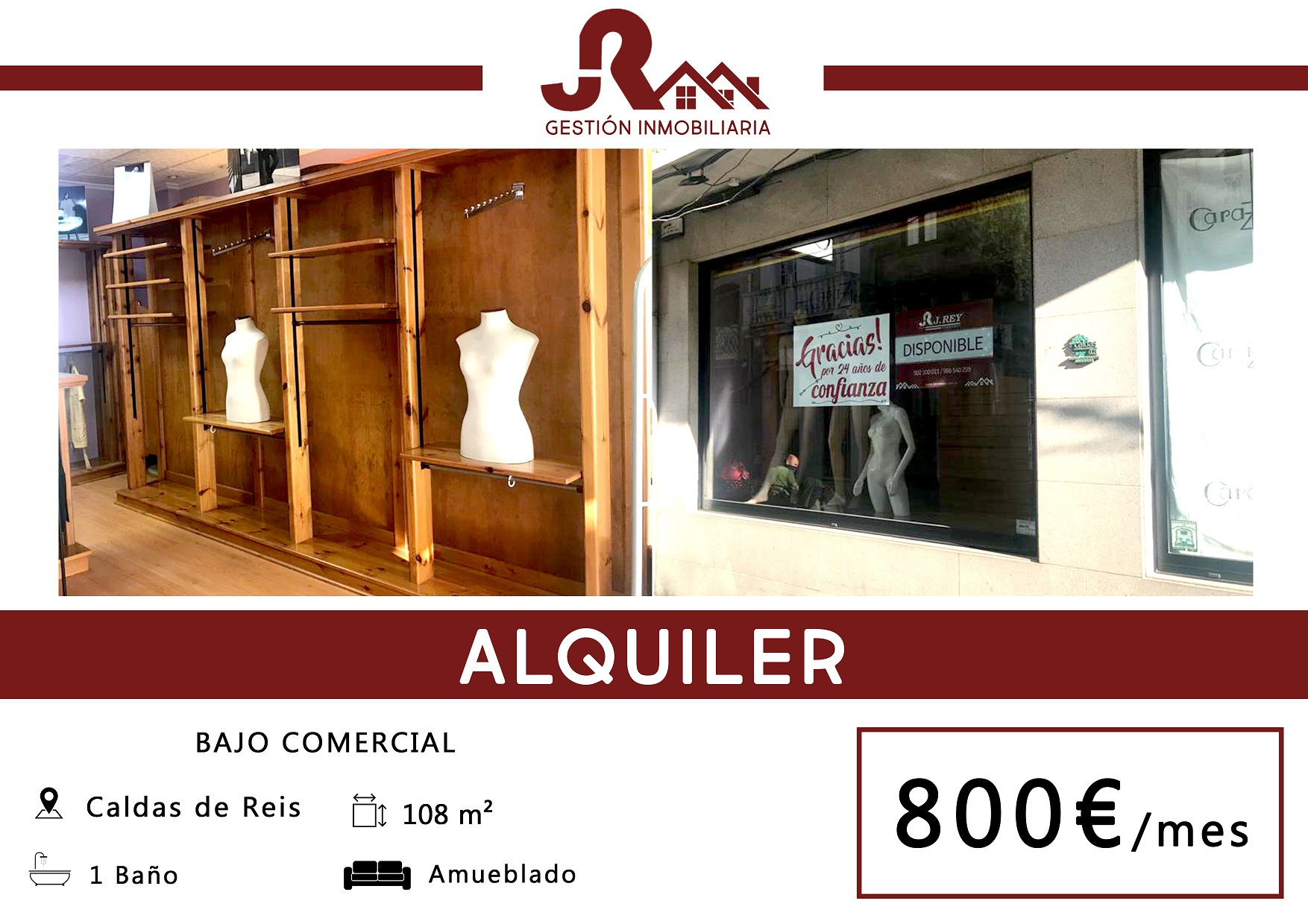 LOCAL COMERCIAL – CALDAS DE REIS
